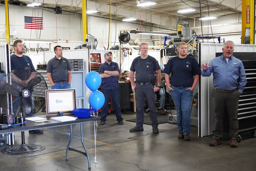 celebrating Precision Dispense Technologies anniversary