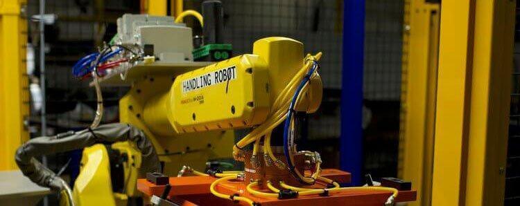 closeup of hil-man automation robotics